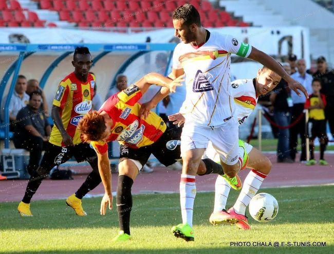 Nouvelle victoire de L'Espérance de Tunis sur l'ES Métlaoui  à  El Menzah. (Photo CHALA)