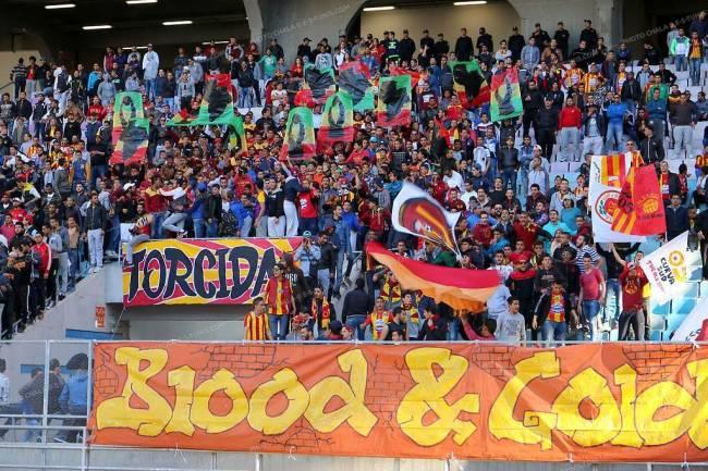 Seulement 1200 supporters autorisés à assister au prochain derby !! (Photo CHALA)