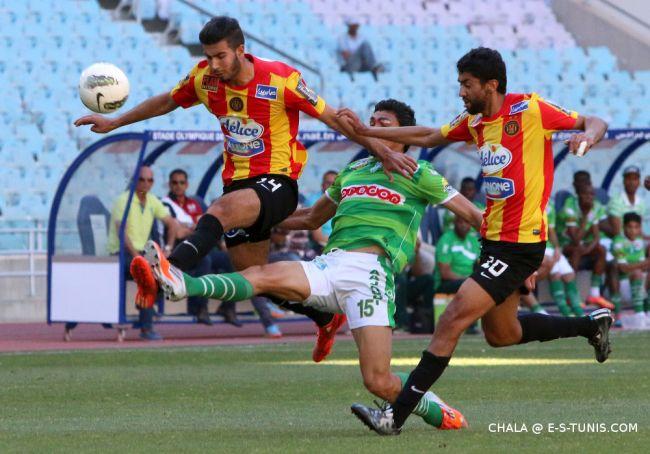 Haythem Jouini face au Stade Gabésien, le 9 mai 2015 à Radès. (Photo CHALA)
