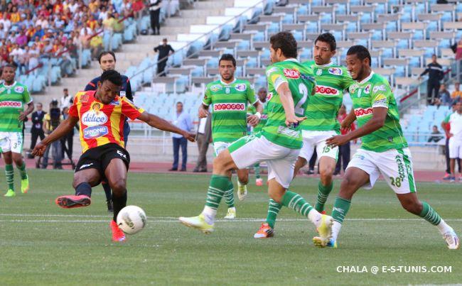 Samuel Emem Eduok auteur d'un hat-trick face au Stade Gabésien, le 9 mai 2015 à Radès. (Photo CHALA)