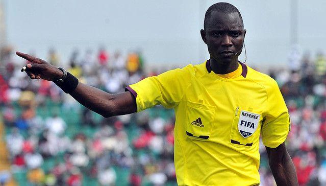Bakary Papa Gassama, arbitre du quart de finale retour face au CR Belouizdad à Radès. (Photo leral.net)