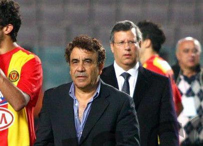 Faouzi Benzarti, finaliste de la Ligue des champions avec l'Espérance de Tunis en 2010. (Photo CHALA)