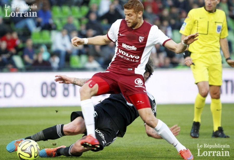 L'histoire entre le FC Metz et Ben Youssef n'aura pas duré longtemps… Photo Pascal BROCARD