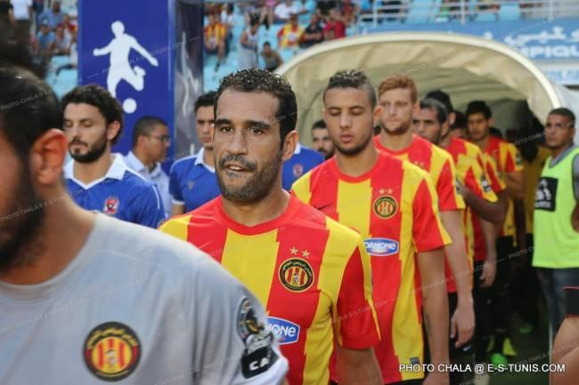 Après une aventure en Libye, Sameh Derbali est de retour à l'Espérance. (Photo CHALA)