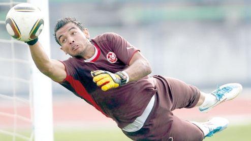 Moez Ben Chérifia auteur d'une prestation remarquable face à Horoya AC en  Ligue des champions. (Photo ttfoot.tn)