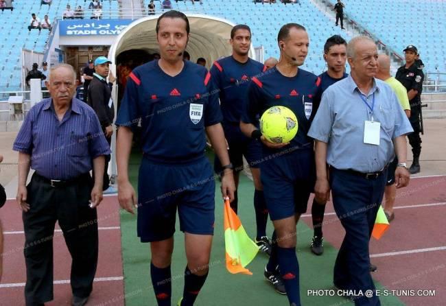 L'arbitre Nasr Allah Jaouadi désigné pour le match ES Métlaoui vs. Espérance ST. (Photo CHALA)