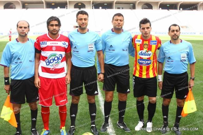 Youssef Sraïri désigné pour diriger le derby de la Supercoupe de Tunisie à Doha. (Photo CHALA)