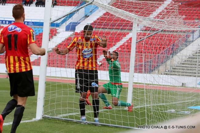 L'Espérance de Tunis qualifiée pour les huitièmes de finale de la Coupe de Tunisie. (Photo CHALA)