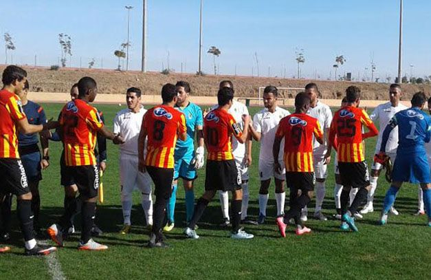 L'Espérance de Tunis disputant un match amical face à l'AS FAR à Marrakech, le 21 janvier 2016. (Photo est.org.tn)