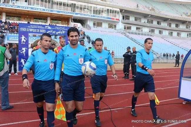 L'arbitre Sadok Selmi désigné pour diriger EST - CAB. (Photo CHALA)