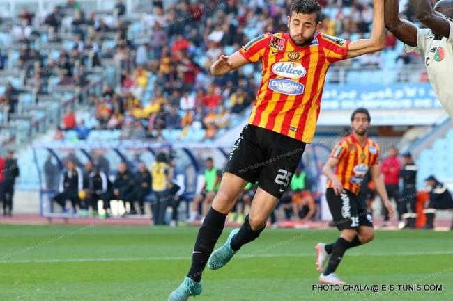 Ghaïlène Chaâlali et ses coéquipiers réalisent un match nul 1-1 contre le DH Jadida . (Photo CHALA)