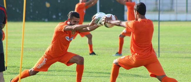 Les Sang et Or à l'entraînement. (Photo est.org.tn)