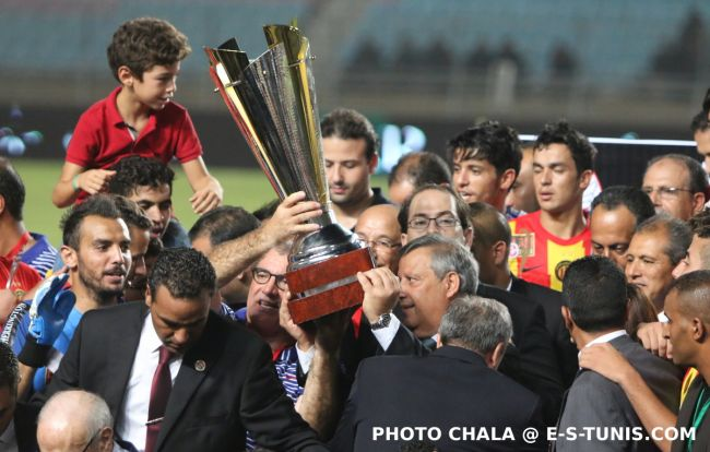 L'Espérance de Tunis vainqueur de la Coupe de Tunisie 2015/2016. (Photo CHALA)