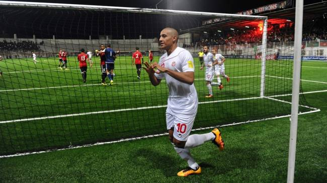 Wahbi Khazri pourra participer à la CAN 2017. (Photo AFP)