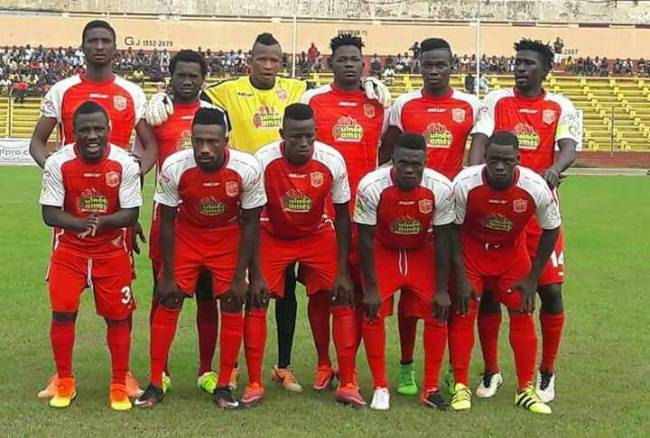 Horoya AC victorieux face à FC Platinum. (Photo GuineeFoot.info)