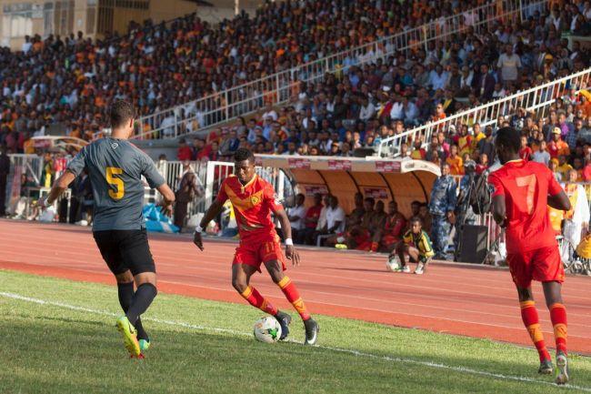 L'Espérance de Tunis face à Saint-George au stade d'Addis Abeba, le 23 mai 2017. (Photo CAFOnline)