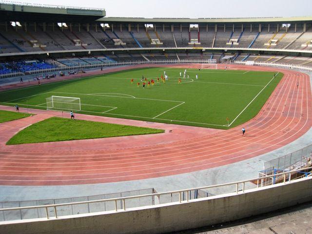Le Stade des Martyrs qui abritera la rencontre entre l'AS Vita Club et l'Espérance de Tunis. (Photo Congo Synthèse)