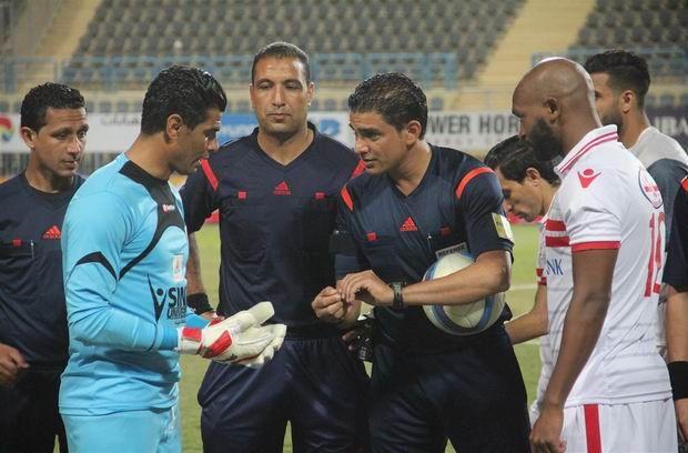 Ibrahim Noureddine, arbitre égyptien de la rencontre EST vs. Al Merrikh de ce soir. (Photo twitter)