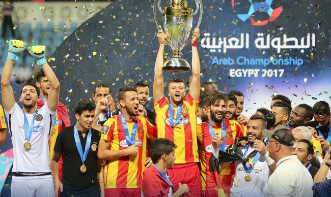 L'Espérance de Tunis remporte le championnat arabe des clubs 2017. (Photo @UAFAAC)