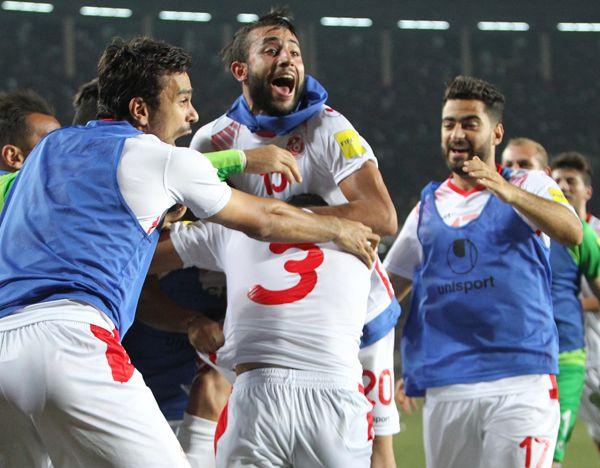 RD Congo - Tunisie 2-2 : les Aigles sur la bonne voie. (Photo FTF)