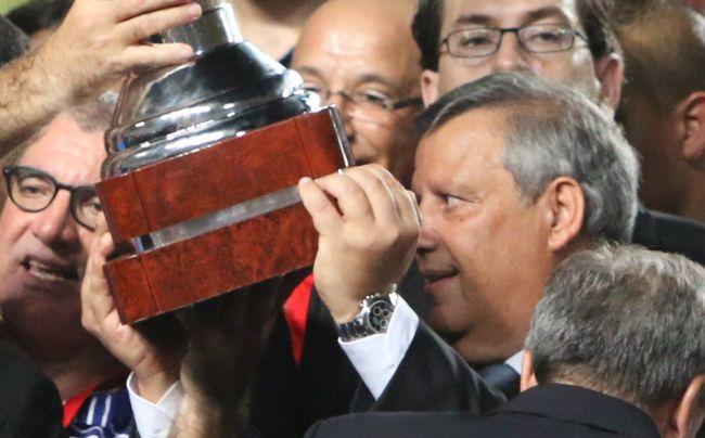 Hamdi Meddeb, président de l'Espérance sportive de Tunis. (Photo CHALA)