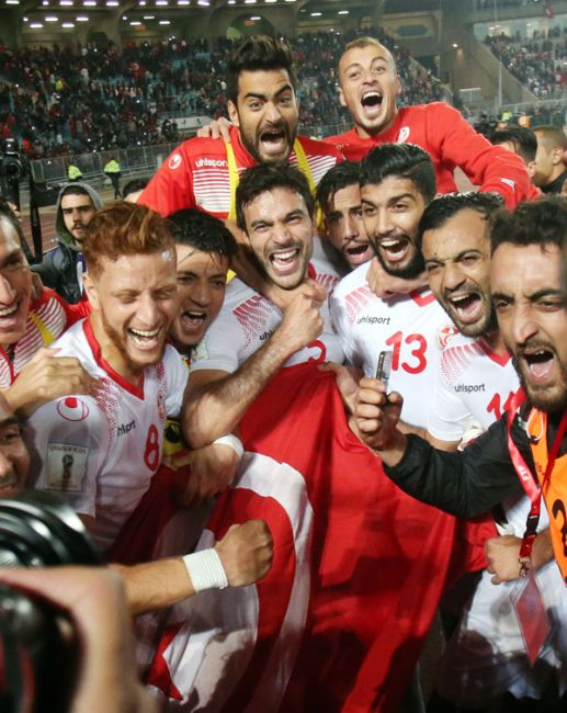 Tunisia secure fifth appearance at World Cup finals. (FTF Photo)