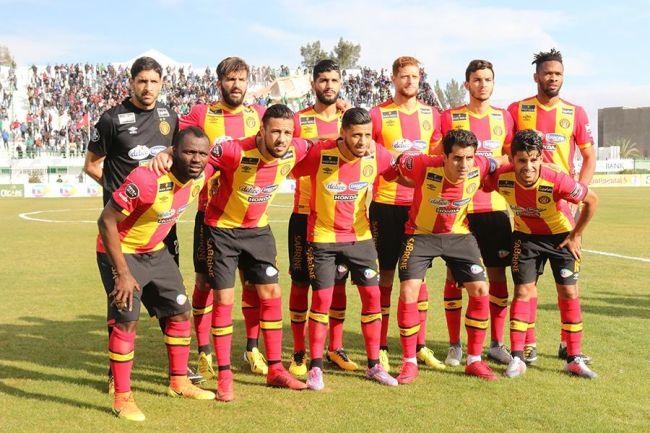 Le onze Sang et Or aligné face à la JSK le jeudi 7 décembre 2017 au stade Hamda Laouani à Kairouan. (Photo est.org.tn)