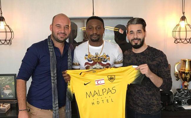 Michaël Eneramo signe au club chypriote de Türk Ocağı Limasol SK. (Photo twitter)