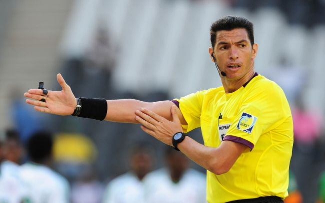 L'arbitre égyptien Zaghloul Gehad Grisha. (Photo dailytimes.ng)