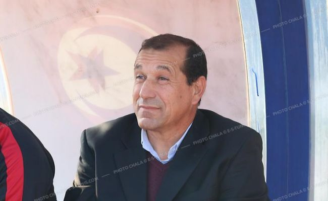 Skander Kasri entraîneur de l'US Monastir. (Photo CHALA)