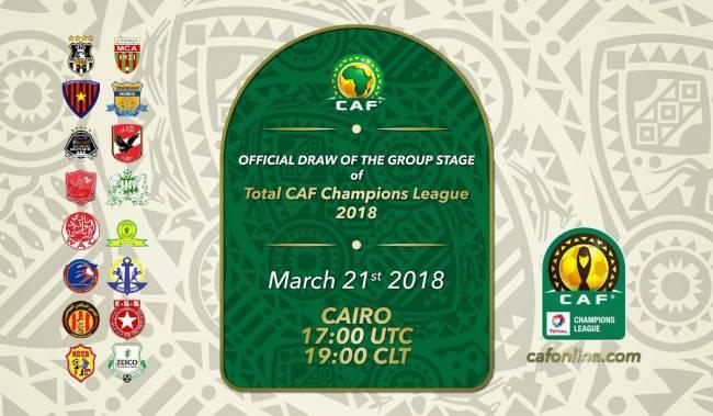 Tirage au sort de la CAF CL 2018. (CAFOnline.com)