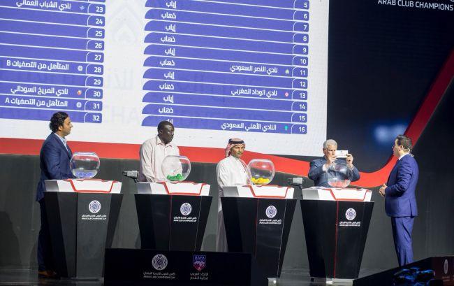 Tirage au sort du Championnat Arabe des Clubs. (Photo UAFA)