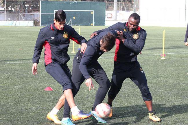 أكابر كرة القدم: المجموعة تستأنف غدا النشاط. صورة : الموقع الرسمي للترجي الرياضي التونسي