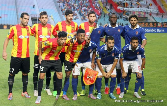 Espérance de Tunis vs. Al Ahly. (Photo CHALA)