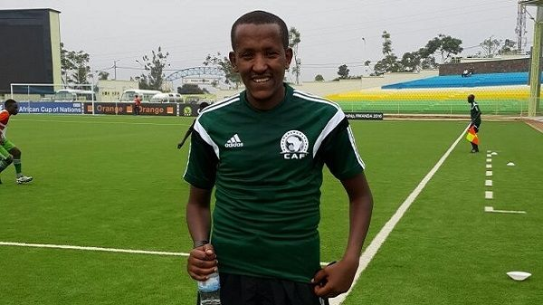 L'arbitre éthiopien Bamlak Tessema Weyesa désigné pour le match face à Township Rollers FC. (Photo Onlineethiopia.net)
