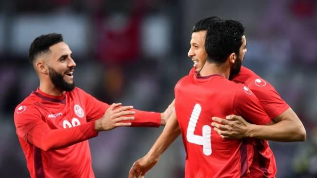 Face à la Turquie, Anice Badri inscrit un nouveau but en sélection. (Photo Goal.com)