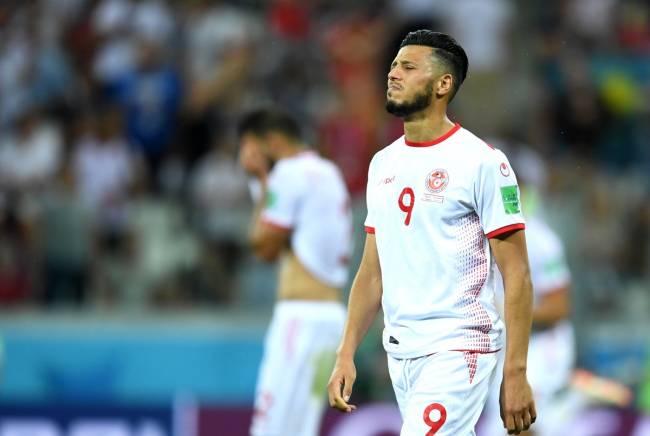 Anice Badri et ses coéquipiers n'ont rien pu faire face à l'Angleterre. (Photo FIFA)