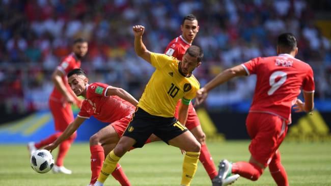 La Belgique d'Eden Hazard a surclassé la Tunisie (Photo Fifa.com)
