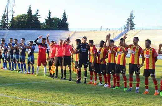 Rencontre amicale entre l'Espérance de Tunis et l'USM Alger, le 27 juin 2018 au stade Chédly Zouiten. (Photo est.org.tn)