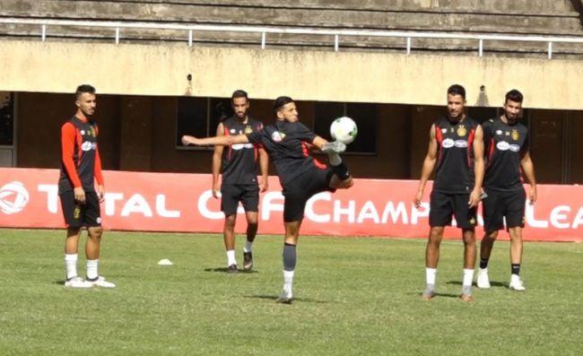 Les joueurs sang et or à l'entraînement. (Photo @ahabu_bwesigye)