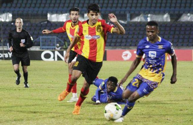 Malgré une belle prestation Saâd Bguir et ses coéquipiers n'ont pas su s'imposer face à Township Rollers FC. (Photo @RollersFC)