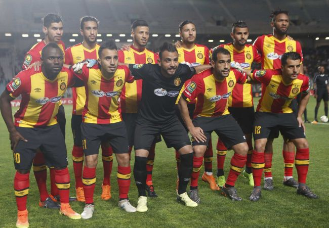 Les Sang et Or s'imposent face à l'Etoile lors de la première manche des quarts de finale (Photo : CAF Online)