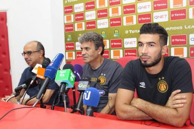 À quitte ou double pour l'Espérance de Tunis et Khaled Ben Yahia. Photo | CAF Online