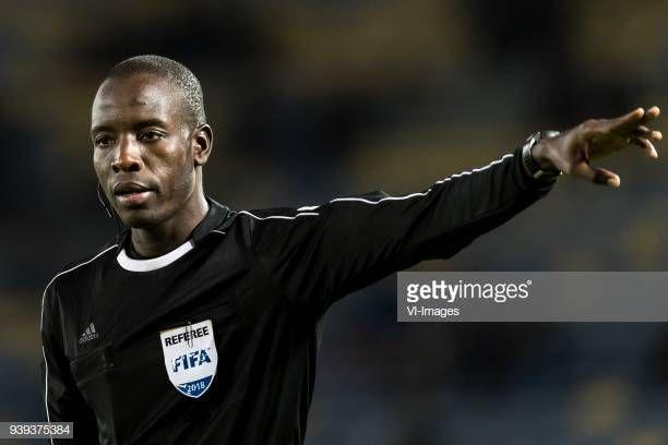 L'arbitre international sénégalais Maguette Ndiaye désigné pour la demi-finale aller de Ligue des champions face à CD Primeiro de Agosto. (GettyImages)