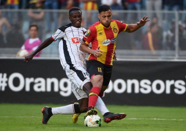 Youcef Belaïli et ses coéquipiers ont été héroïques face à CD Primeiro de Agosto en Ligue des Champions, le 23 octobre 2018 à Radès. (Photo Fifa.com)