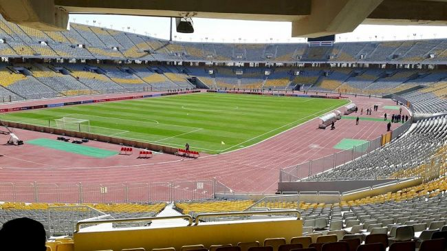 Stade Borg Al Arab, lieu la finale aller de la CAF Champions League 2018. (Photo wikipedia)