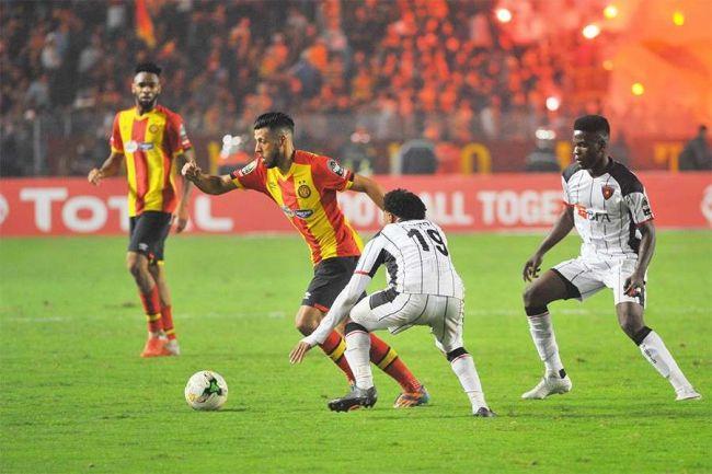 Anice Badri et l'Espérance de Tunis qualifiés en finale de la CAF Champions League 2018. Photo | TV5 Monde Afrique