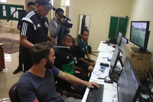 VAR training course for inter-club finals in Cairo. For the first time, VAR will be used for the finals of the CAF Inter-Club Competitions. Photo | CAF Online