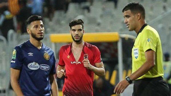 Le tricheur Walid Azaro a fini par être sanctionné par la CAF et sera privé de finale retour à Radès. (Photo twitter)