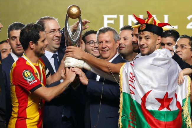 Espérance crowned African Champions. Photo | AFP